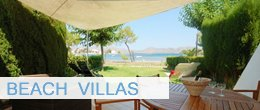 Sea villas, villas in pollensa near beach and sea