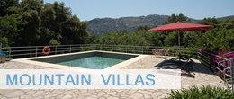 Mountain villas in Pollensa